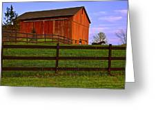 Is Every Barn Red Greeting Card