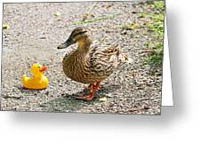 Is Everything Ducky? Greeting Card