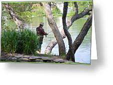 Is The Fisherman Real? Greeting Card