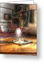 Is This Right Mr. Edison? Greeting Card