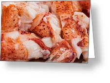 Is Your Mouth Watering? Greeting Card by At Lands End Photography