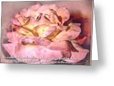 Isaiah 35 1 Greeting Card