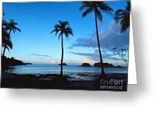 Isla Secas Greeting Card