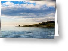 Island At Dublin Harbor Greeting Card