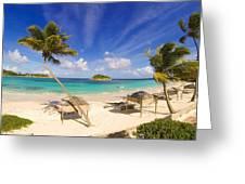 Island Breeze Greeting Card