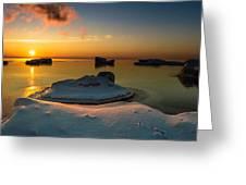 Island Burgs Greeting Card