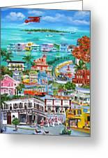 Island Daze Greeting Card