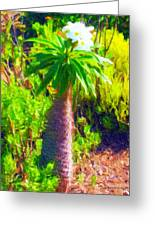 Island Flowering Plant Greeting Card