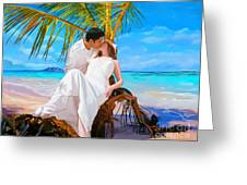 Island Honeymoon Greeting Card