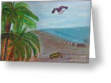 Island In Philippines Greeting Card