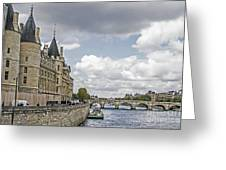Island In The Seine Greeting Card