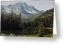 Island Lake Greeting Card