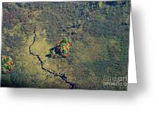 Island Of Fall Color Greeting Card