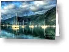 Island Of Lefkada Greeting Card