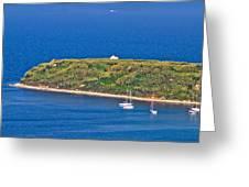 Island Of Susak Cape Church Greeting Card