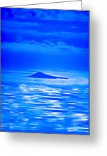 Island Of Yesterday Wide Crop Greeting Card