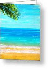 Island Paradise Greeting Card