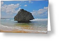 Island Rock Greeting Card
