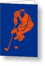 Islanders Shadow Player3 Greeting Card
