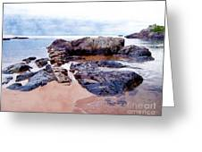 Islands Off The Shore Greeting Card