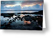 Isle Of Mull Sunset Greeting Card