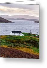 Isle Of Skye Cottage Greeting Card