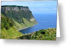 Isle Of Skye Sea Cliffs Greeting Card