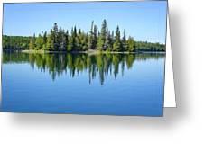 Isle Royale Reflections Greeting Card