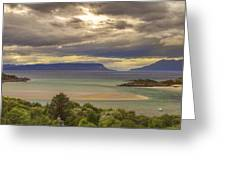 Isles Of Eigg And Rum Greeting Card