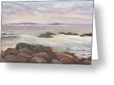 Isles Of Shoals From Odiorne Point Greeting Card