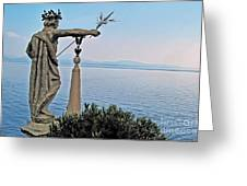 Isola Bella Lookout Greeting Card