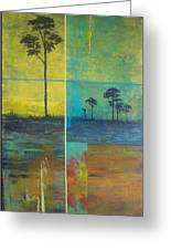 Isolated Cypress I Greeting Card