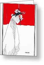 Isolde 1899 Greeting Card