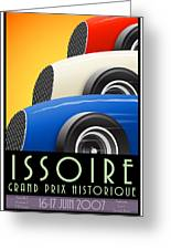 Issoire France Grand Prix Historique Greeting Card