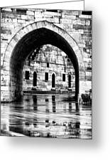 Istanbul Arch Greeting Card