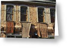 Istanbul Carpets For Sale Greeting Card