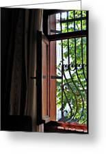 Istanbul Window Greeting Card