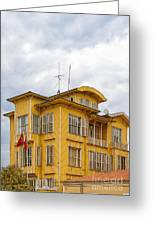 Istanbul Wooden Houses 04 Greeting Card
