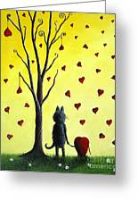 It Must Be Love By Shawna Erback Greeting Card