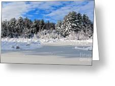 It Snow Reason Greeting Card