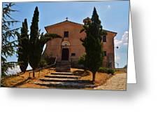 Italian Chapel Greeting Card