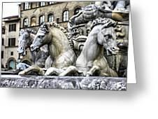 Italian Fountain Greeting Card