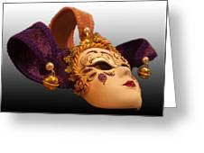 Italian Masquerade Greeting Card