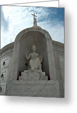 Italian Mausoleum Greeting Card
