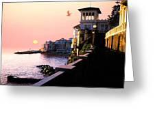 Italian Riviera Greeting Card