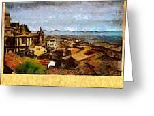 Italian Rooftops Greeting Card