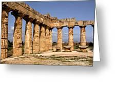 Italian Ruins 2 Greeting Card