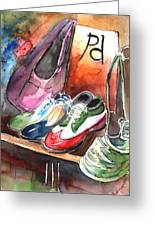 Italian Shoes 01 Greeting Card