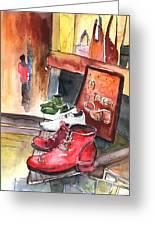 Italian Shoes 05 Greeting Card