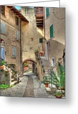 Italien Gasse Greeting Card